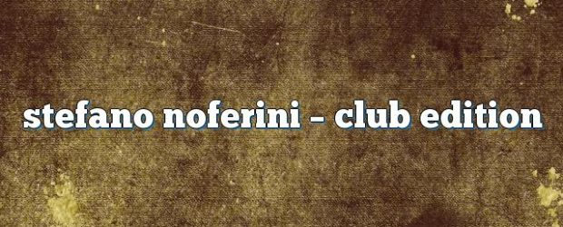 Airs on August 01, 2016 at 01:00PM Stefano Noferini Presents Club Edition you may also like: Stefano Noferini – Club Edition Stefano Noferini – Club Edition Stefano Noferini – Club […]