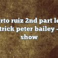 Airs on September 09, 2016 at 04:00PM alberto ruiz 2nd part lester fitzpatrick peter bailey on enationFM