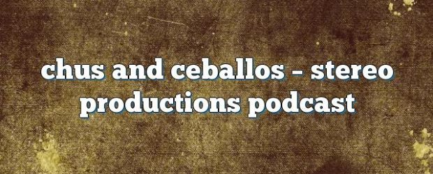 Airs on December 12, 2016 at 07:00AM Chus and Ceballos have been the pioneers and creators of the underground movement known as IBERICAN SOUND. you may also like: Chus and […]