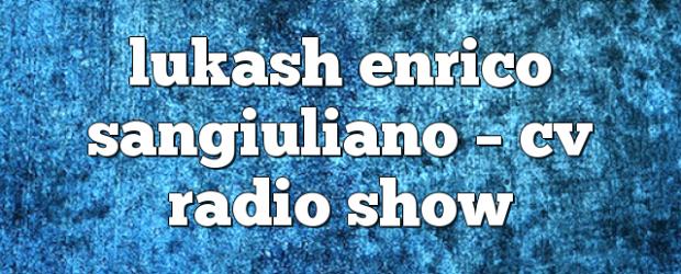Airs on October 13, 2017 at 04:00PM Fridays at 4pm EST you may also like: enrico sangiuliano – Alleanza Radio Show enrico sangiuliano – Alleanza Radio Show special cristian varela […]