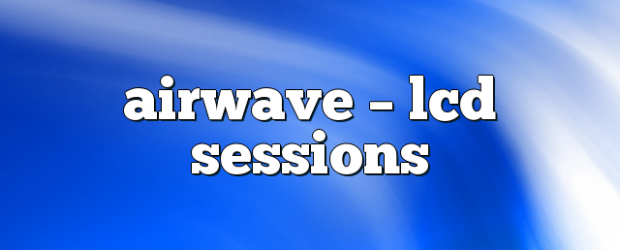 Airs on November 15, 2017 at 01:00PM each week you are guaranteed 60 mins of pure trance euphoria you may also like: Airwave – LCD Sessions Airwave – LCD Sessions […]