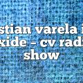 cristian varela ian axide – CV Radio Show
