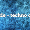 Marrie – Techno Color