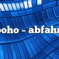 boho – Abfahrt