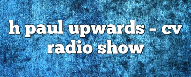 Airs on May 18, 2018 at 04:00PM Fridays at 4pm EST you may also like: dean paul – CLR Radio Show rada h paul – CV Radio Show paul nazca […]