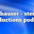 anhauser – Stereo Productions Podcast