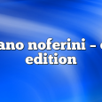 Airs on March 9, 2020 at 01:00PM Stefano Noferini Presents Club Edition