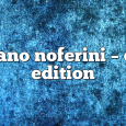 Airs on April 6, 2020 at 01:00PM Stefano Noferini Presents Club Edition