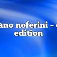Airs on October 26, 2020 at 01:00PM Stefano Noferini Presents Club Edition