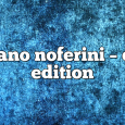 Airs on January 11, 2021 at 01:00PM Stefano Noferini Presents Club Edition