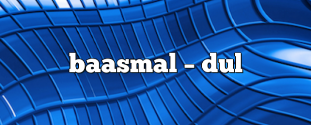 Airs on April 4, 2021 at 07:00PM Baasmal on enationFM